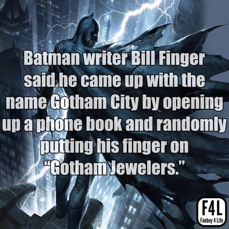Batman Fact