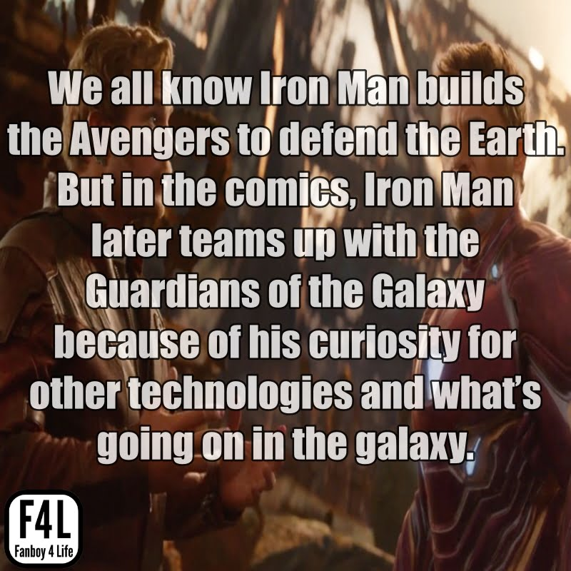 Iron Man: 15 Awesome Facts 1