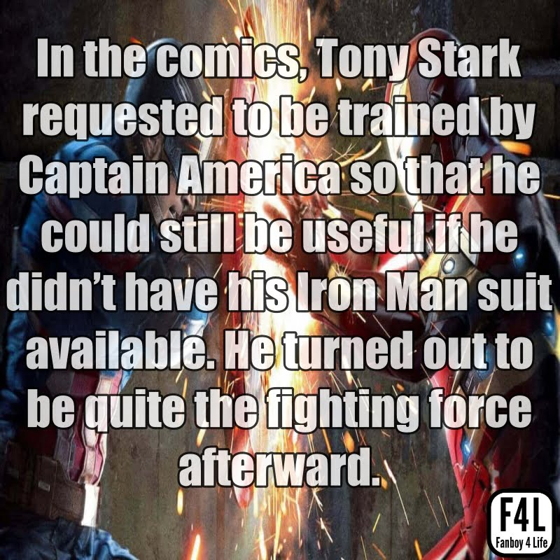 Iron Man Fact