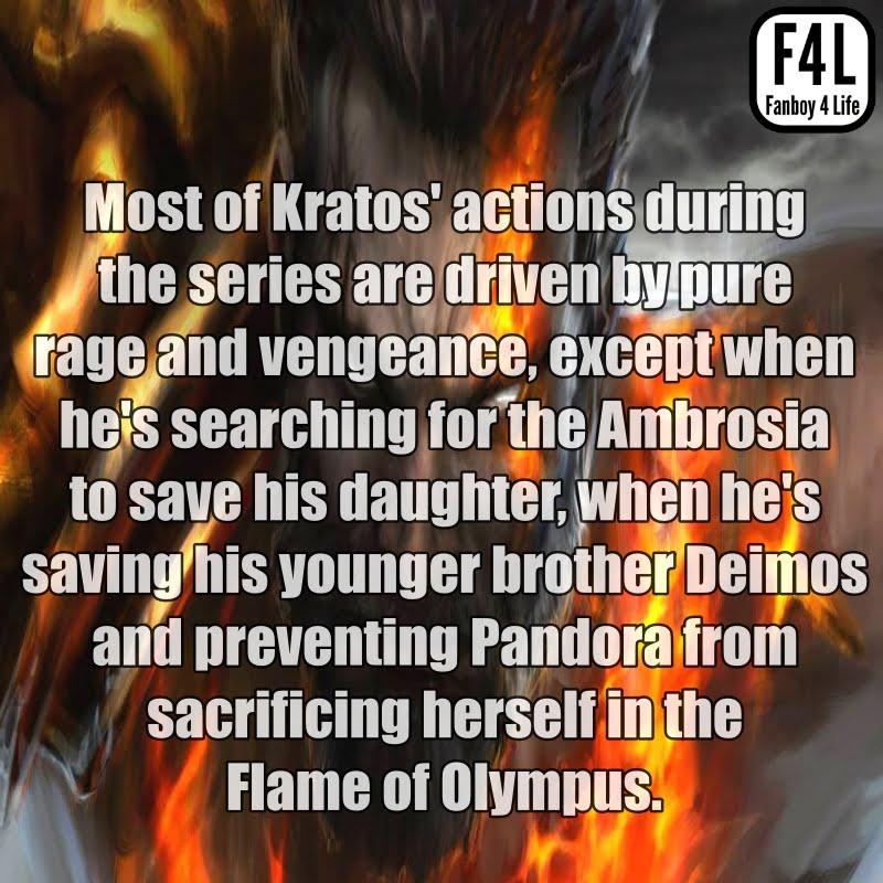 Kratos: 15 Amazing Facts 5