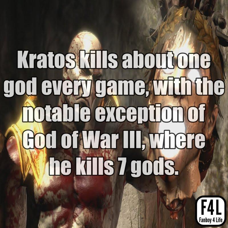 Kratos Fact