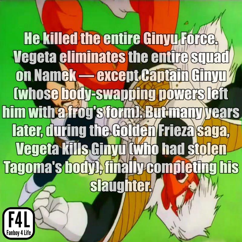 Vegeta fighting Jeice