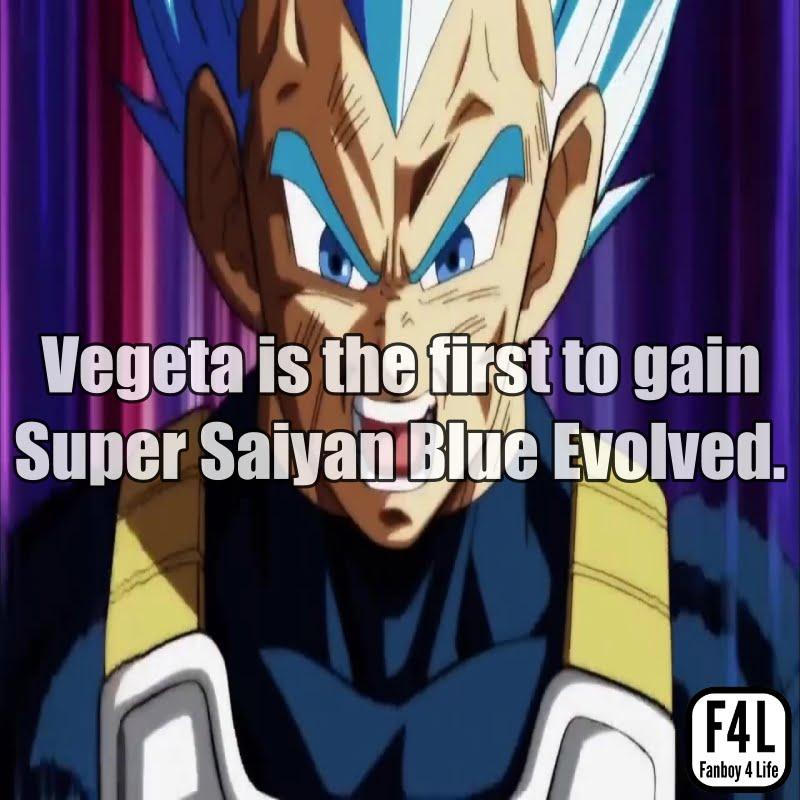 Vegeta attains Ascended Super Saiyan Blue