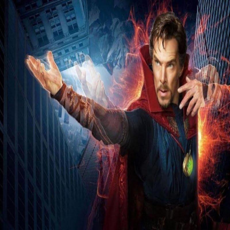 Doctor Strange posing