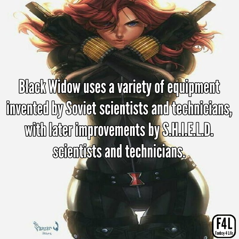 Black Widow: 15 Fascinating Facts 4