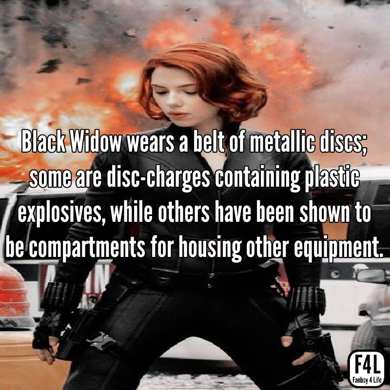 Black Widow: 15 Fascinating Facts 6