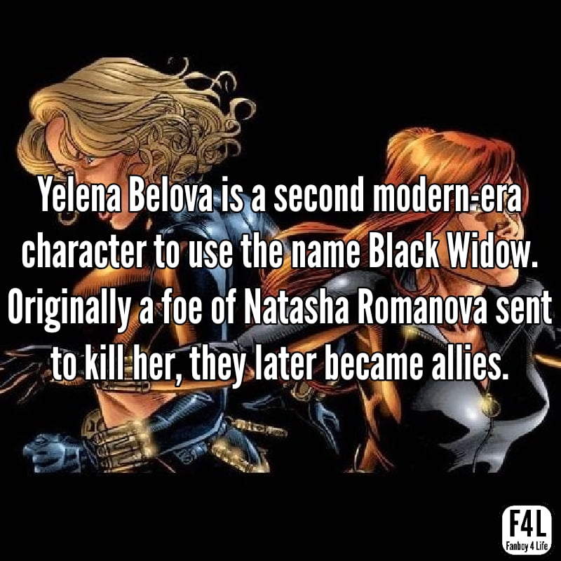 Black Widow: 15 Fascinating Facts 7