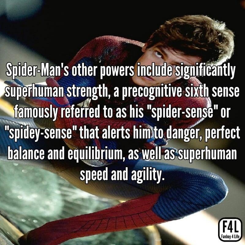 Spider-Man Facts