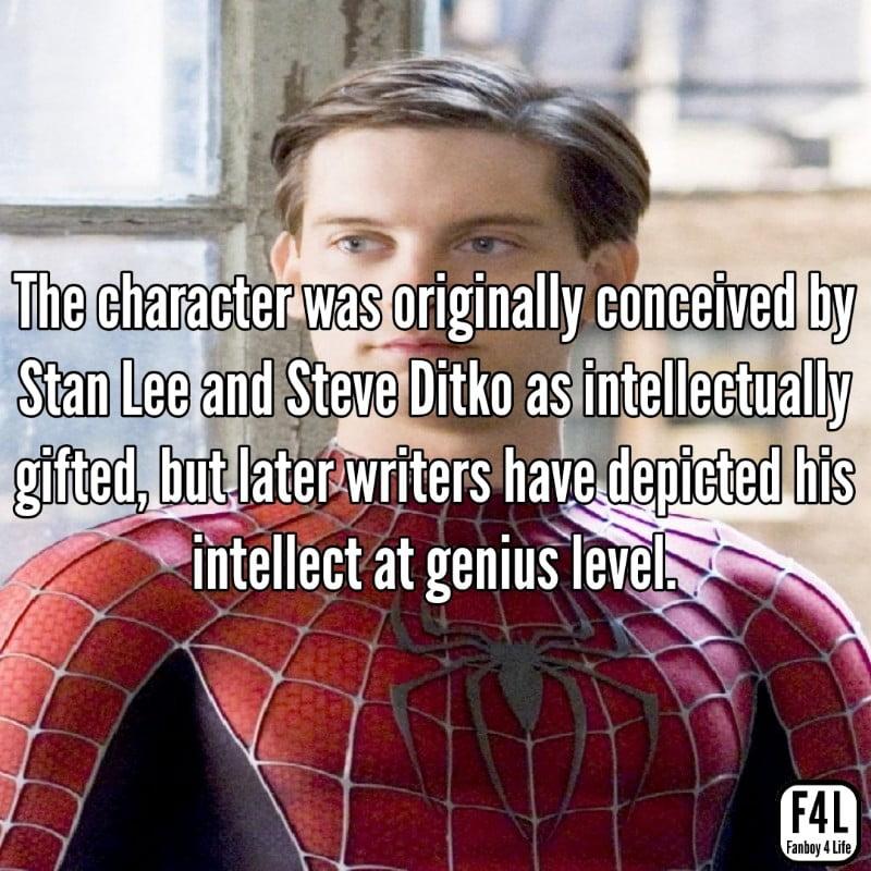 Marvel Spider-Man Facts
