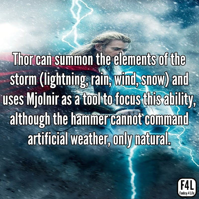 Thor Odinson: 20 Incredible Facts 3