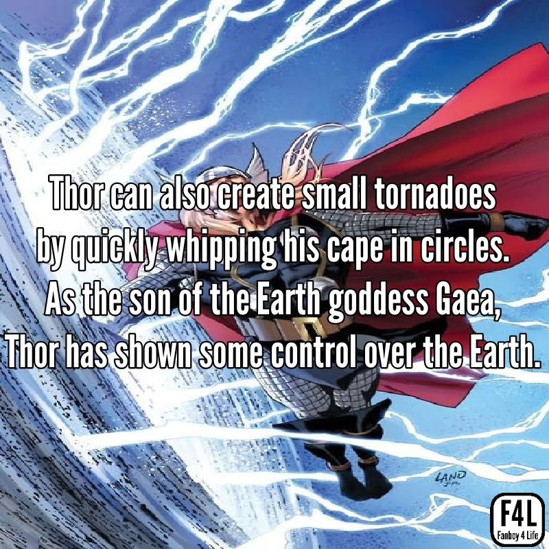Thor Odinson: 20 Incredible Facts 4