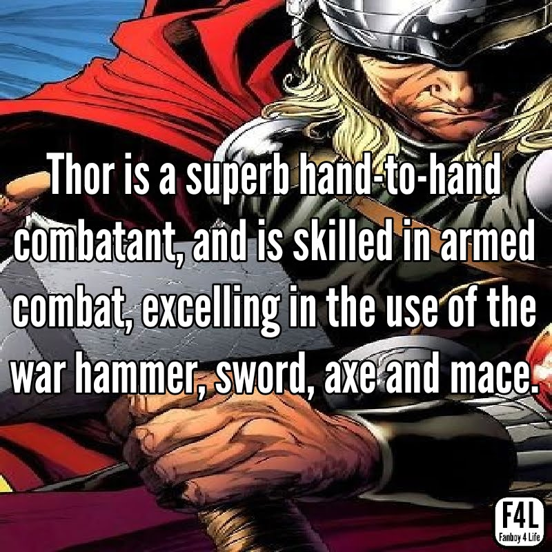 Thor Odinson: 20 Incredible Facts 5