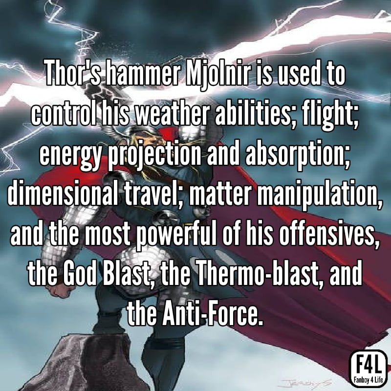Thor Odinson: 20 Incredible Facts 8