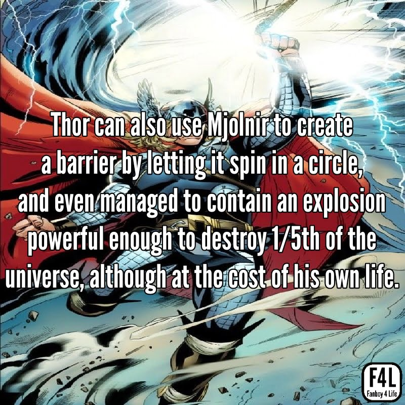 Thor Odinson: 20 Incredible Facts 10