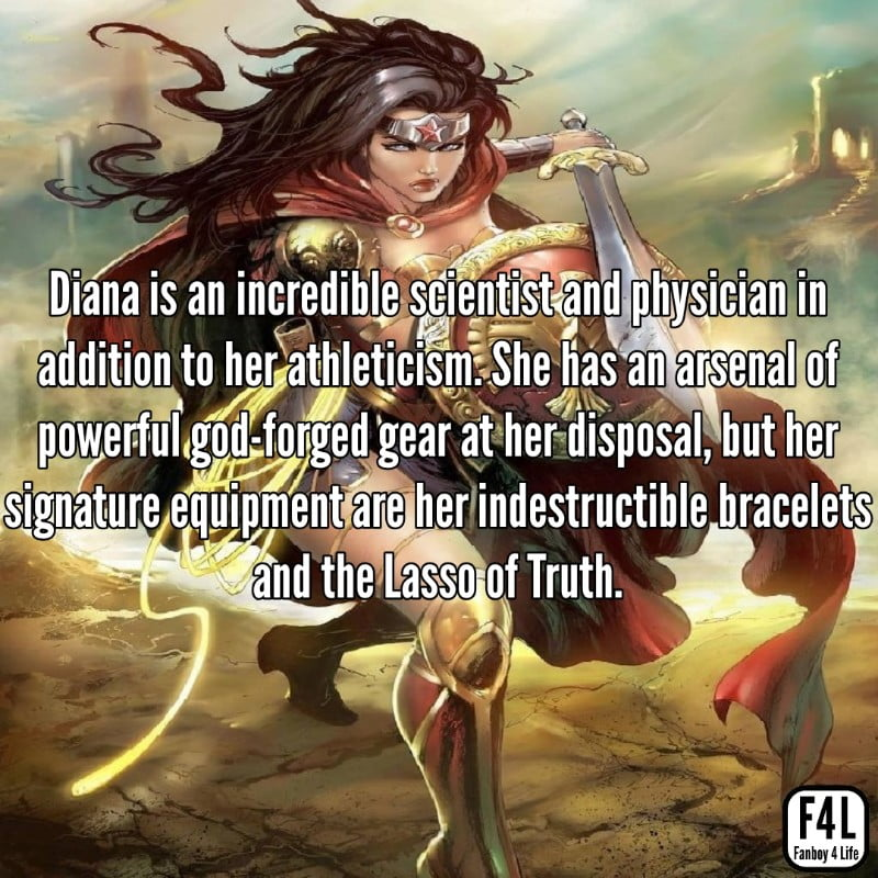Wonder Woman: 30 Incredible Facts 11