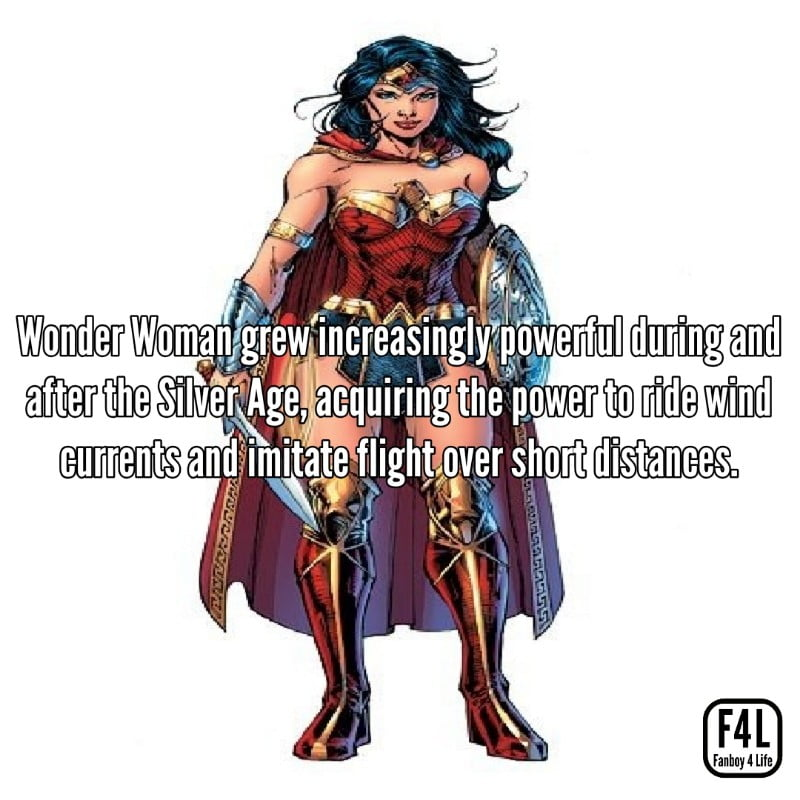 Wonder Woman: 30 Incredible Facts 14