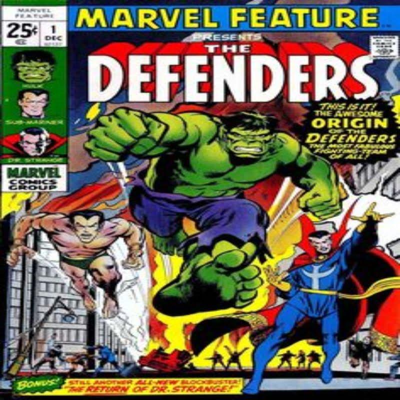 The Defenders comic book