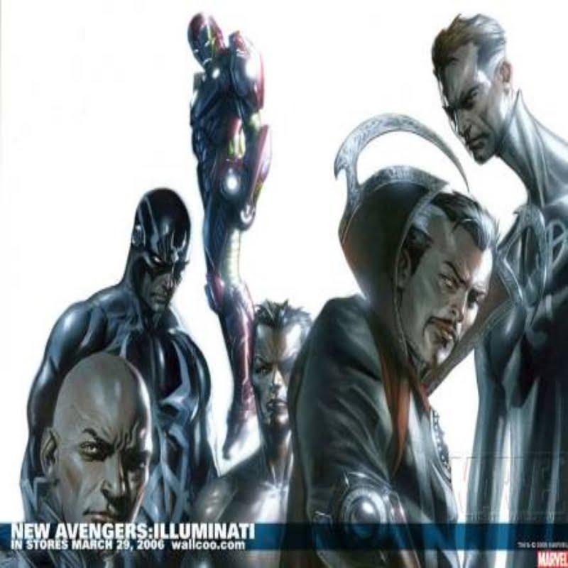 Doctor Strange in The Illuminati