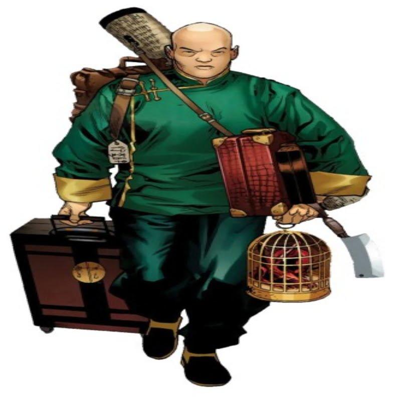 Wong carrying gear