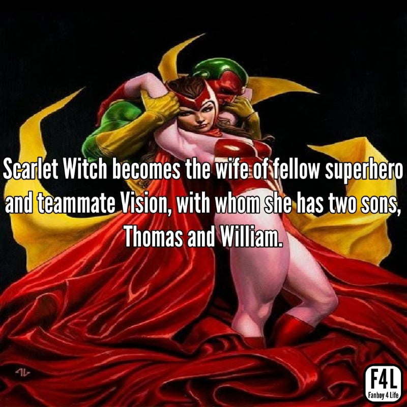 Scarlet Witch: 15 Spell-binding Facts 1