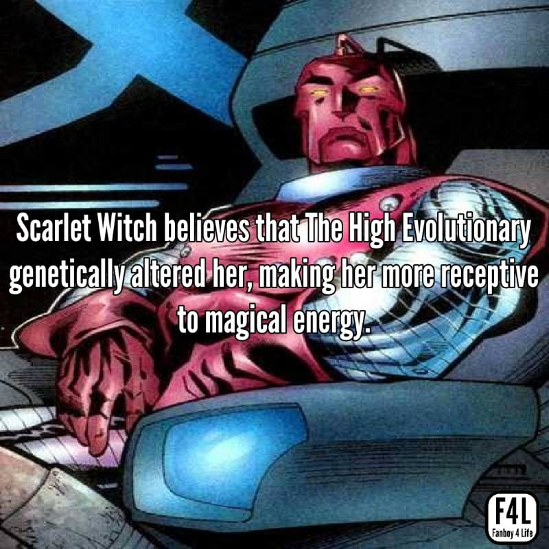 Scarlet Witch: 15 Spell-binding Facts 3