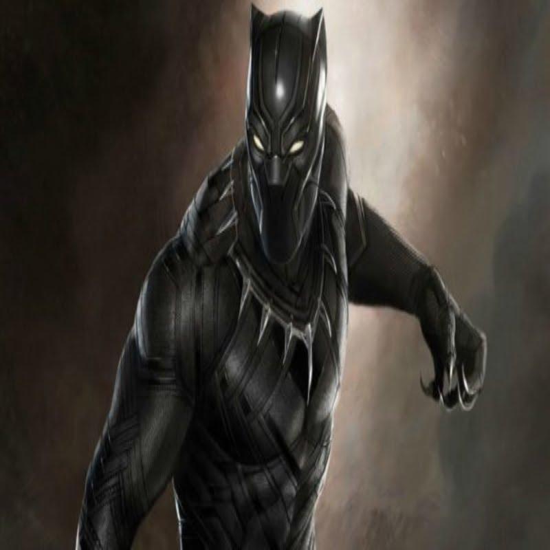 Black Panther posing