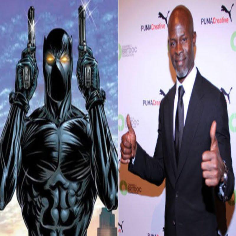 Black Panther with Djimon Honsou