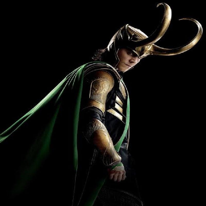 Loki posing