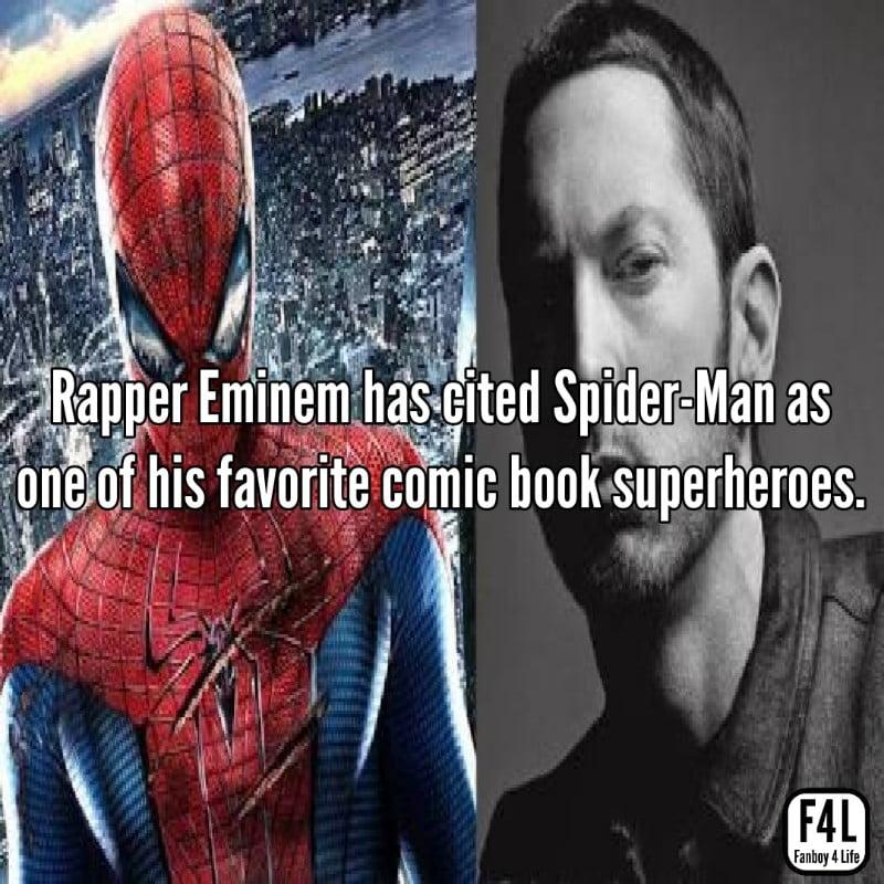 Spider-Man with Eminem