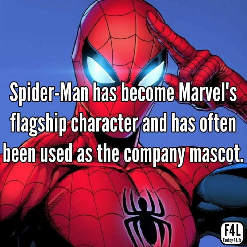 Spider-Man becomes Marvel's flagship character