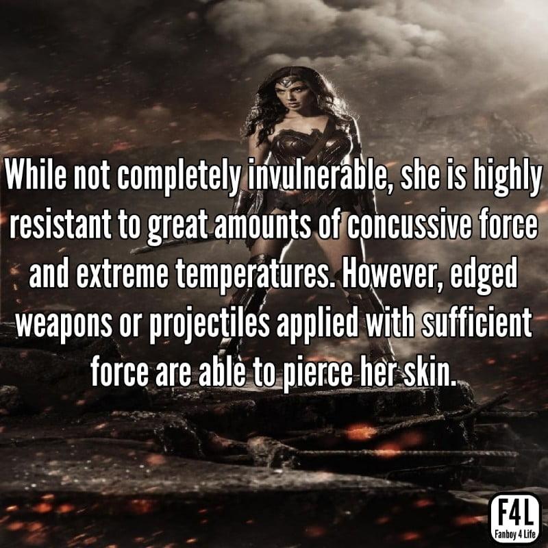 Wonder Woman posing