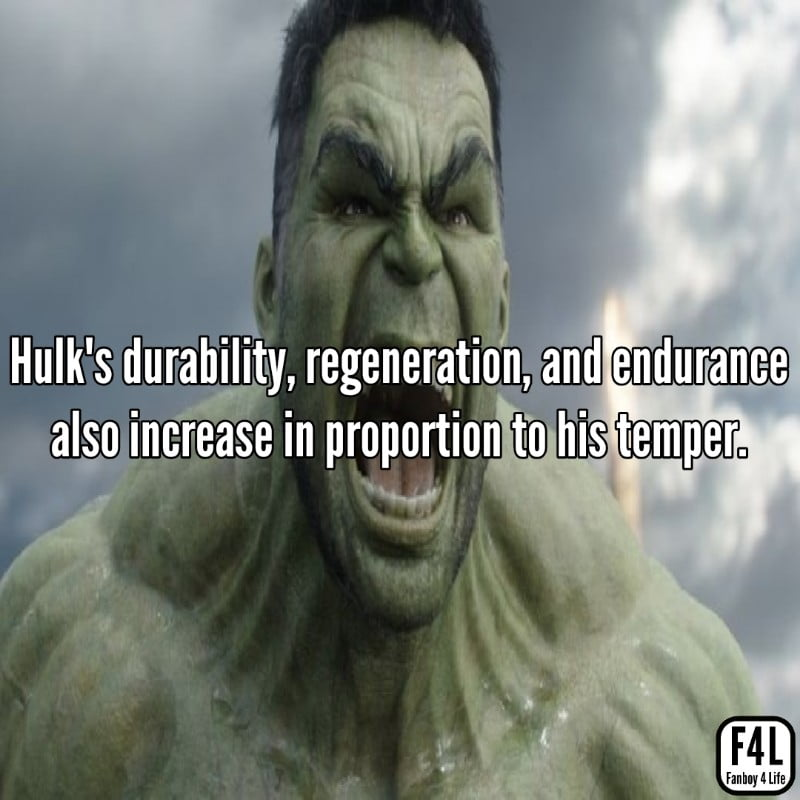 Hulk screaming
