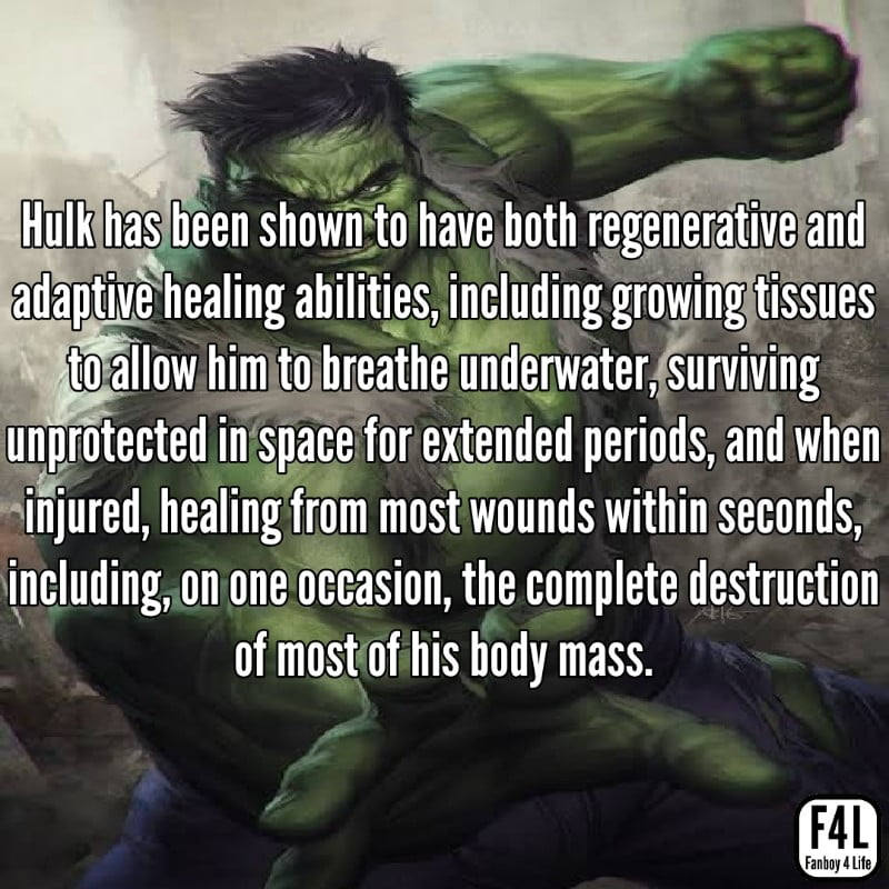 Hulk fighting