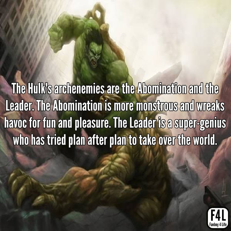 Hulk fighting Abomination