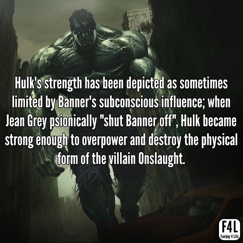 Hulk walking