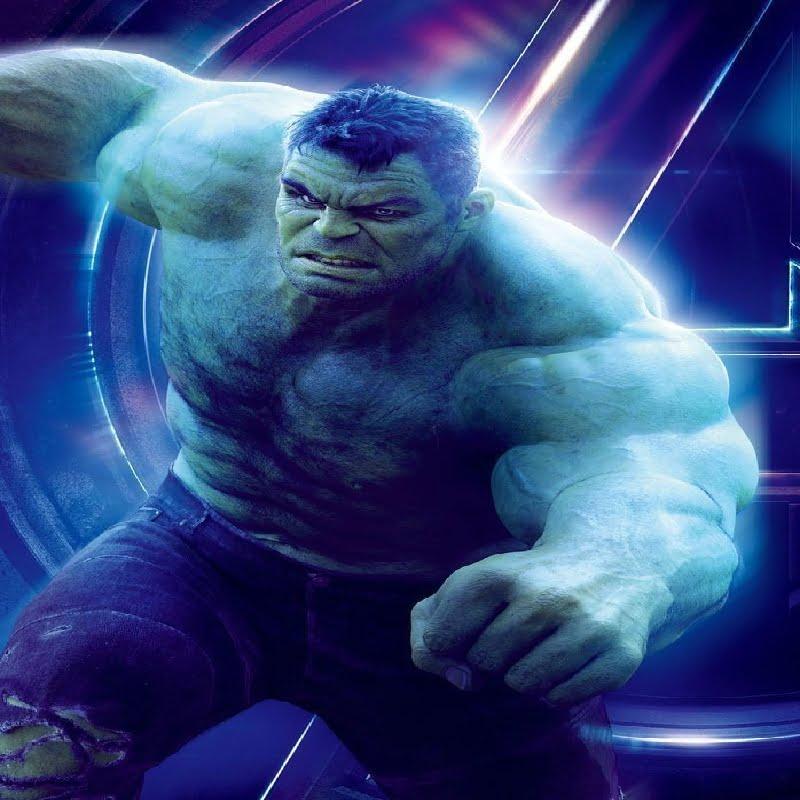 Hulk in Avengers Infinity War poster