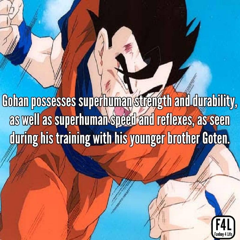 Gohan fighting Super Buu