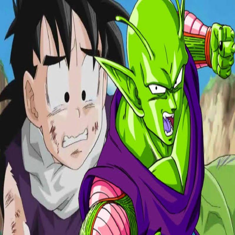 Gohan and Piccolo posing