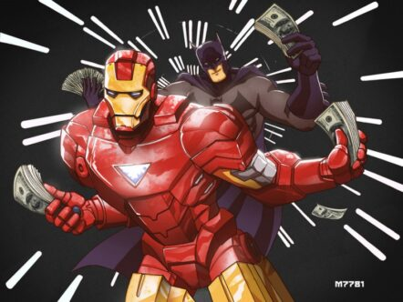 World's Richest Superheroes: 6 Astounding Characters